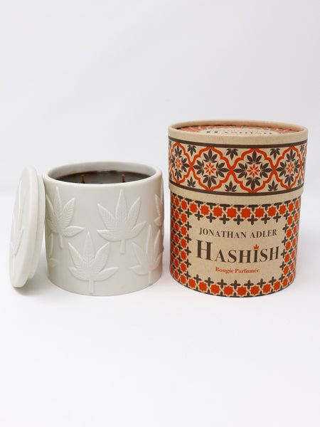 Jonathan Adle Hashish Ceramic Candle