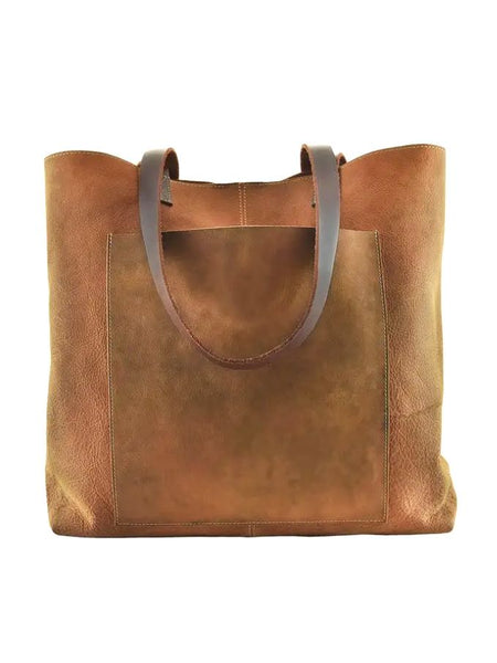 Kiko Leathers PCH Tote in Brown Leather