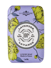 La Chatelaine Hand Wrapped Soap in Lavender