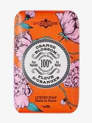 La Chatelaine Hand Wrapped Soap in Orange Blossom