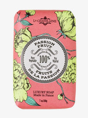 La Chatelaine Hand Wrapped Soap in Passion Fruit