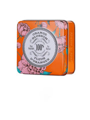 La Chatelaine Tinned Travel Soap in Orange Blossom