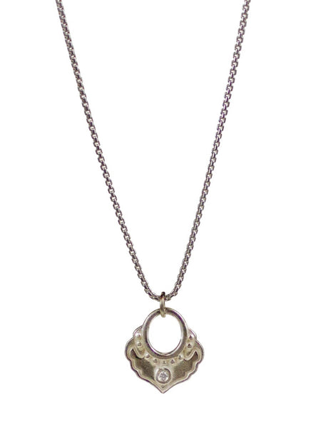 Lulu Designs Karma Necklace in Silver