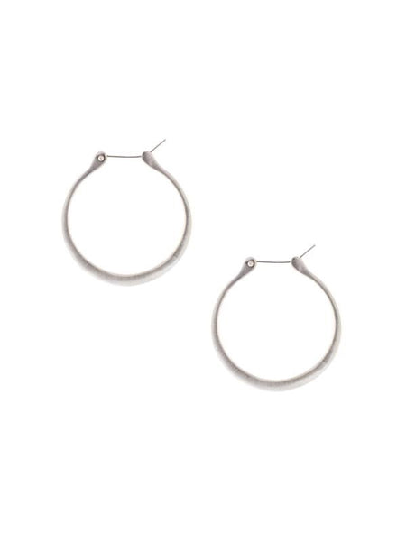 Lulu Designs Coco Small Hoop Earrings in Sterling Silver