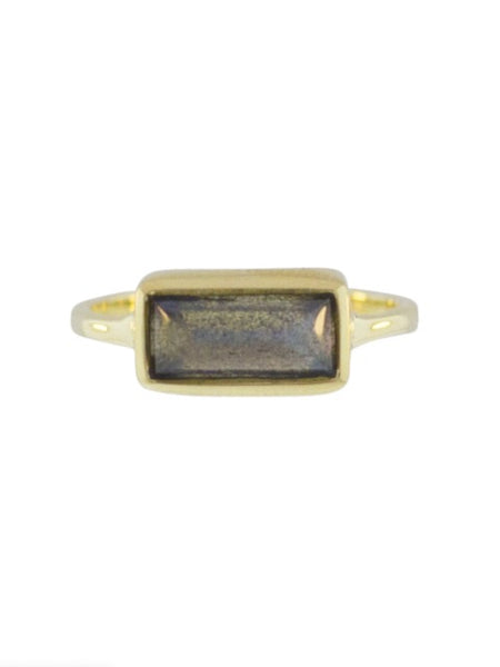 Lulu Designs Core Ring in Labradorite