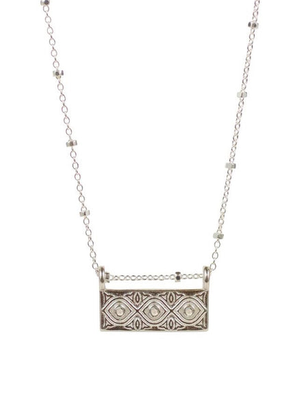 Lulu Designs Dharma Necklace in Sterling Silver