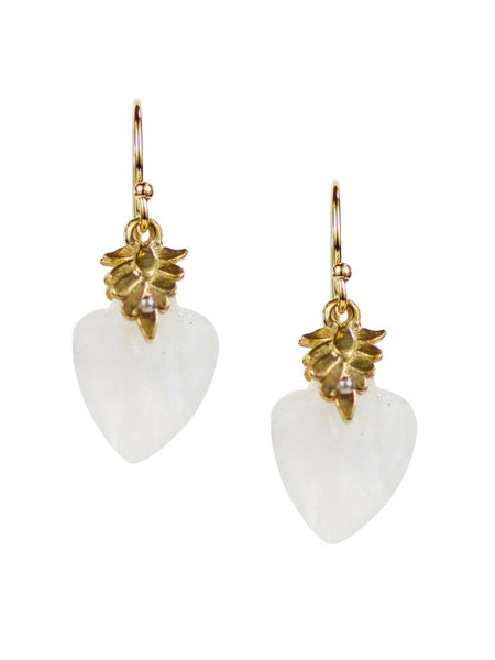 Lulu Designs Ventura Earrings in Moonstone