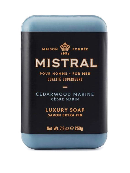 Mistral Men's Cedarwood Marine Bar Soap