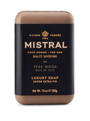 Mistral Men's Teakwood  Bar Soap