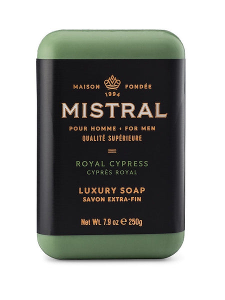 Mistral Men's Royal Cypress Bar Soap