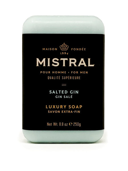 Mistral Men's Salted Gin Bar Soap