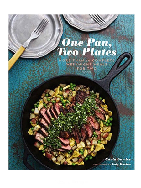 One Pan, Two Plates Softcover Cookbook