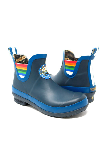 Pendleton Crater Lake National Park Heritage Rain Boot in Blue Rubber.