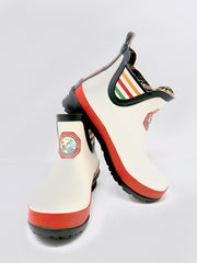Pendleton Glacier National Park Heritage Rain Boot in White Rubber.