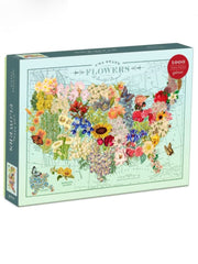 US State Flowers Puzzle, 1,000 Piece