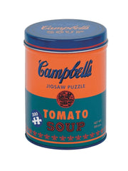 Andy Warhol Soup Can Jigsaw Puzzle in Orange
