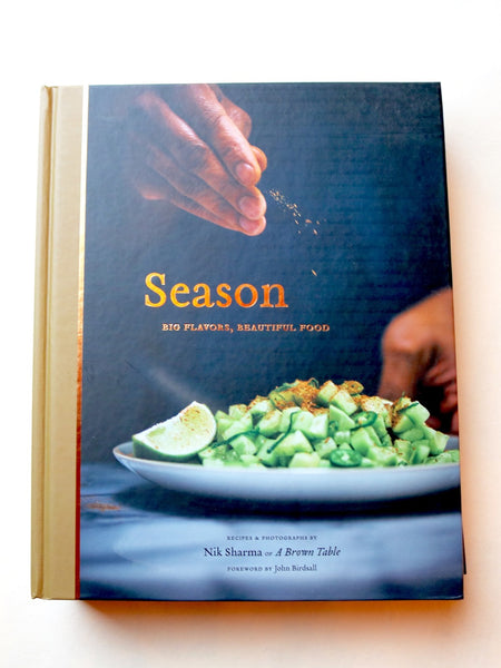 Seasons Hardcover Cookbook