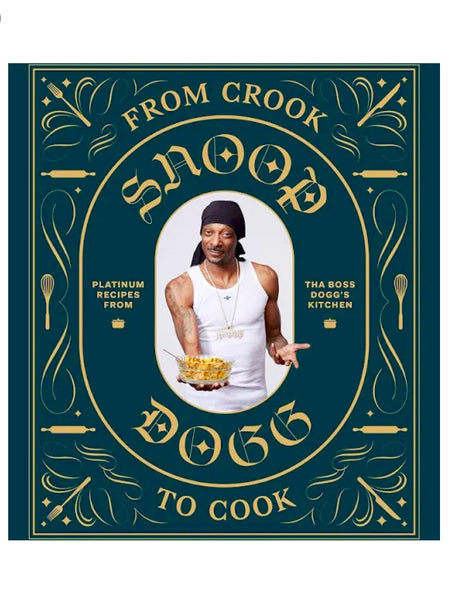 From Crook to Cook Hardcover Cookbook