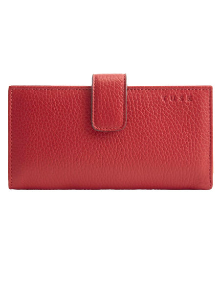 Tusk Ascot Slim Wallet in Flame Leather