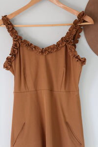 Honey ~ Ladies Ruffle Strap Dress