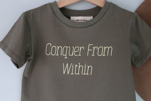 Conquer from Within ~ Boys T-Shirt