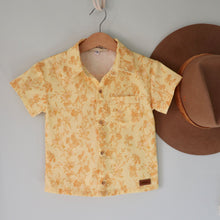 Load image into Gallery viewer, Cassidy ~ Boys Short Sleeve Button Shirt