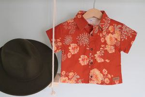 Emerson ~ Boys Short Sleeve Button Shirt