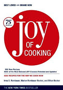 "NEW!  The Joy of Cooking.  A Gift for The Bride Selection.  ""Best Loved and Brand New."""