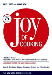 The Joy of Cooking.  Rombauer, Irma S., Marion Rombauer Becker and Ethan Becker.  NY:  Scribner, 2006.