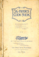 The Bride's Cookbook. 1918