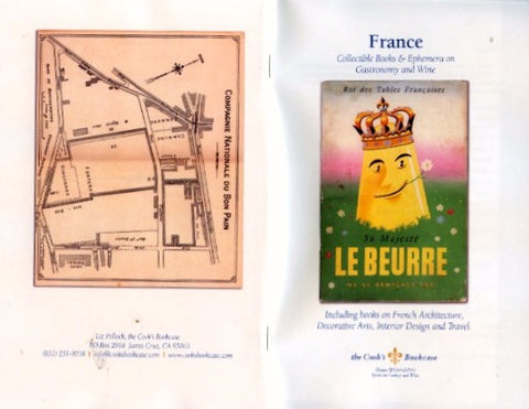 France - Collectible Books & Ephemera on Gastronomy and Wine