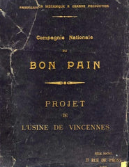 Compagnie Nationale du Bon Pain. ca 1910