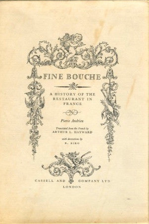 Fine Bouche.  By Pierre Andrieu.  [1956].