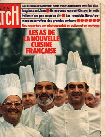 (Periodical)  Paris Match. {Paul Bocuse}.   [1976].