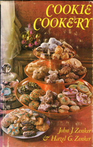 (Christmas)  Cookie Cookery.  By John J. Zenker & Hazel G. Zenker.  [1969].