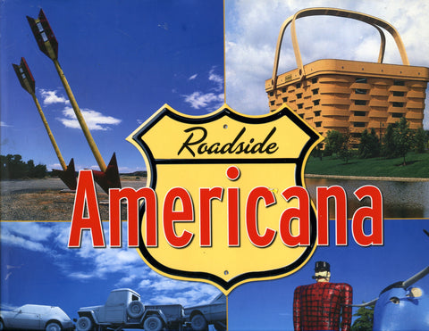 (Travel)  Roadside Americana.  By Eric Peterson.  [2008].