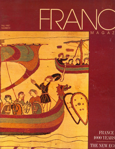 "France, Magazine.  ""France is 1,000 Years Old.""  Fall, 1987."