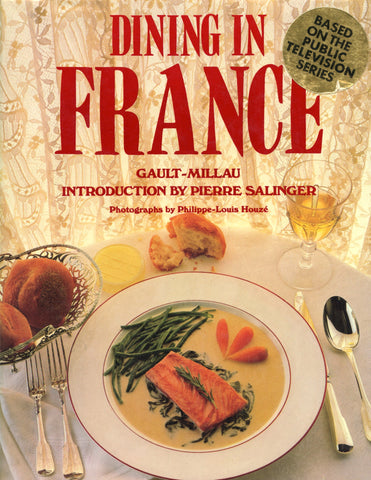 (France)  Dining in France.  By Christian Millau.  [1986].