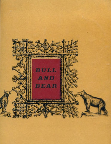 (Menu)  [The] Bull and Bear [Steakhouse].  [ca. 1960's].