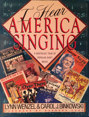 (Sheet Music) I Hear America Singing. [1989].