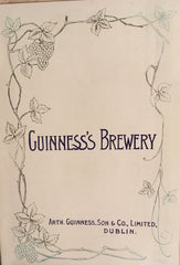 (Guinness Stout) Guide Book Arth. Guinness, Son & Co. [1906].