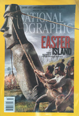 (Tiki) Easter Island. National Geo. [July, 2012].
