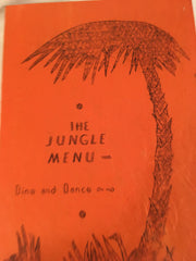 (Menu) The Jungle. Edmonds, WA. [ca. 1940's].