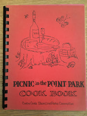 Picnic in the Point Park Cook Book. [ca. 1960's].