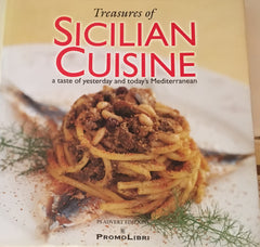 Treasures of Sicilian Cuisine.  A taste of yesterday and today's Mediterranean. Photography by Leonardo Frusteri. 2004