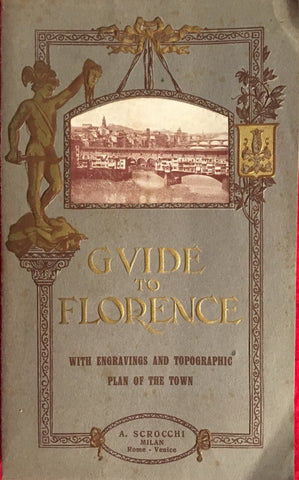 (Travel) Guide to Florence. [ca. 1910's].