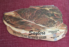 Sayler's Old Country Kitchen.  Beaverton, OR: N.d. (ca. 1960's).