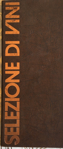 (Menu) Ponte d'Oro. Hyatt Regency, SF. (ca. 1970's).