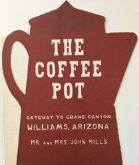(Arizona)  The Coffee Pot Restaurant.  [ca. 1940's].