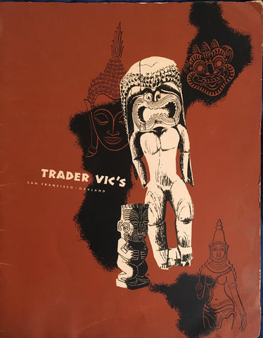 (Menu) Trader Vic's. SF, Oakland. [1951].